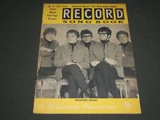 RECORD SONG BOOK MAGAZINE - MANFRED MANN - DO WAH DIDDY DIDDY - ST 4746