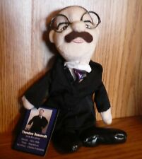 K&K Games Famous American Presidents Bean Bag Collectible Theodore Roosevelt Tag