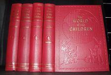 ** The World of the Children - Four Vol Set -Stuart Miall -Caxton- 1958 2nd Prt