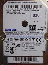 320gb Samsung hm320ji | p/n: 296811cq824699 | 2008.08 | #326
