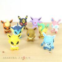 Pokemon BANDAI FIGURE x CLIP Figulip vol.2 Complete set of 9 Figures Japan