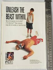 WCW The Main Event Gameboy RARE Print Advertisement