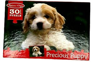 Melissa & Doug Precious Puppy Jigsaw Puzzle - 30 Pieces - #8923 - COMPLETE  - LN