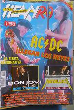 HEAVY ROCK:N.154-AC/DC-BON JOVI-METALLICA-STRATOVARIUS-EXTREMODURO-ETC..