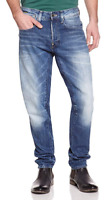 G-Star Raw Men's A Crotch Tapered Jeans Medium Aged  W32 L34  *REF74-24