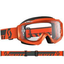 Gafas Scott Mx Hustle Motocross Naranja Con Lente Claro Funciona