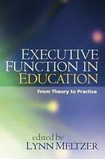 Executive Function in Education: From Theory to Practice-ExLibrary