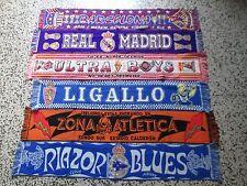 lotto 6 sciarpe FOOTBALL CLUB ESPANA FC calcio scarf bufanda spagna spain lot g