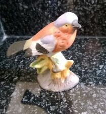Vintage Ceramic Chaffinch Bird Ornament Figure Used
