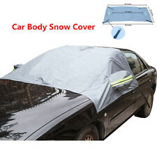 Car Body Front Windshield & Rearview Mirror Protector Cover Snow Sunshade Guard