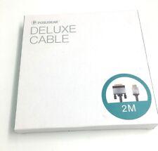 HDMI to DVI Cable 2M  Posugear Nylon Braided Bi-Directional HDMI HDTV to DVI