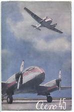 LET AERO 45 MANUFACTURERS SALES BROCHURE 1948 CZECHOSLOVAKIA