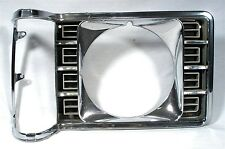 1975 76 77 ORIGINAL FORD ORIGINAL GRANADA CHROME HEADLIGHT BEZEL D5DB 13064DB