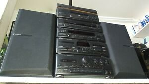 KENWOOD HiFi 6 pieces Stack system separates A-45 X-45 T-85L GE-450 DP-950 LS-45