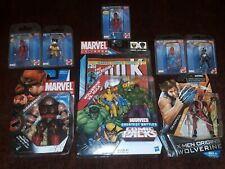 Marvel Legends Universe lot DEADPOOL HULK WOLVERINE JUGGERNAUT XMEN RARE