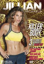 Jillian Michaels:  Killer Body  - DVD - NEW Region 4
