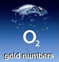 gold unique easy to remember mobile phone numbers on O2 network