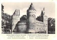 Belgium Chateau feodal de Beersel, Etat Actuel, Feodaal kasteel van Beersel