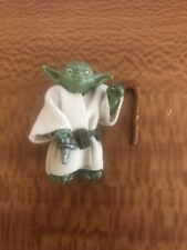Vintage Star Wars Yoda Figure with Repro Cape Belt And Cane