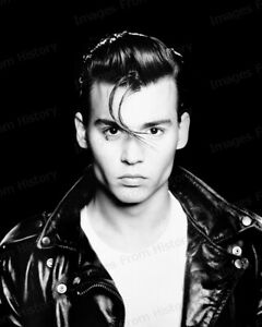 8x10 Print Johnny Depp Cry Baby 1990 #16087