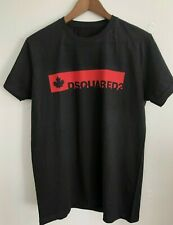 DSQUARED2 BLACK T-SHIRT without tags and labels Slim Fit