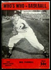 Who's Who in Baseball 1950 - 25th Edition - Mel Parnell Cover Boston Red Sox