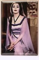 "Munsters MAGNET 2"" x 3"" Refrigerator Locker Vintage Photo Lily Herman Image 2"