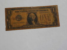 Silver Certificate 1 Dollar Bill 1928 Funny Back Note Paper Money Funnyback
