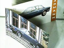 FAC SIMILE  1994 DEPLIANT BMW 3.0 CS/CSI coupé KARMANN 1970