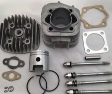 66/80cc Motorized Bicycle Engine parts -COMPLETE top end-Studs, Cylinder, Piston