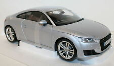 Minichamps 1/18 Scale Audi TT Coupe 3rd Generation Foil Silver diecast model car