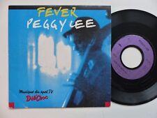 PEGGY LEE Fever Musique PUB Delichoc  2037107   Pressage France    RRR