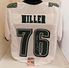 SHAREEF MILLER Signed / Autographed Philadelphia Eagles White Custom Jersey JSA