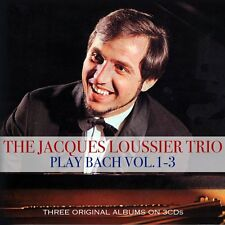 The Jacques Loussier Trio - Play Bach Vol 1-3 (3CD 2017) NEW/SEALED