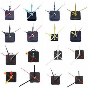 DIY Replace Wall Clock Quartz Movement Mechanism Fittings Parts Collectibles