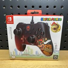 Nintendo Switch Super Mario Bowser Edition Wired Controller PowerA 10ft. USB