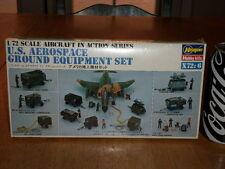 U.S. AIRCRAFT / AEROSPACE GROUND EQUIPMENT SET, Plastic Model Kit, Scale 1/72