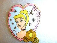 Disney pin - Disney Princess - Starter Set -Lanyard and 4 Pins (Cinderella Only)