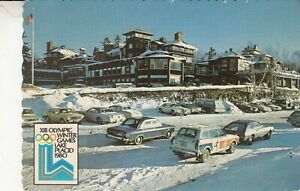 Lake Placid New York Resort Hotel 1980 XIII Olympic Winter Games Postcard