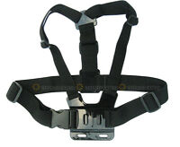 Adjustable Chest Body Harness Belt Strap Mount For Gopro HD Hero 1 2 3 3+ Camera