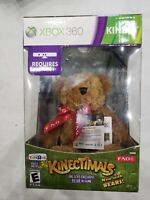 XBOX 360 KINECT KINECTIMALS PLUSH FAO BEAR & GAME TOYS R US EXCLUSIVE