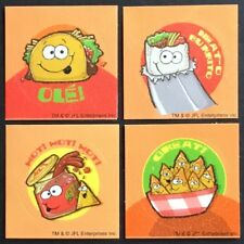 Dr. Stinky's Scratch & Sniff Stickers - Mexican Food - Collectible Set!!