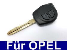 Schlüssel Fernbedienung Gehäuse Rohling mit Gummi tasten für Opel Agila A B