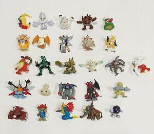 1990's 2000's Digimon Digital Monsters Assorted Mini Figure Lot of 26 Bandai