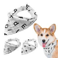 3pcs/lot Cotton Bandana Dog Neckerchief Collar Pet Cat Puppy Neck Scarf Necklace