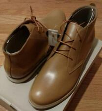 "$195 Mens Authentic Lacoste ""Millard"" Leather Chukka Boots Light Brown US 11"