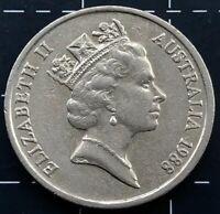 1988 AUSTRALIAN 10 CENT COIN