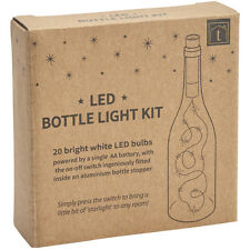 20 Bright White LED Bottle Light Kit – Wine Wedding Party Student Decoration