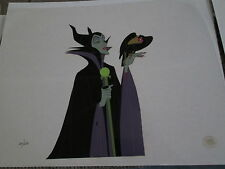 Sleeping Beauty Maleficent sold-out limited edition Disney cel