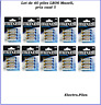 Lot de 40 piles LR06, AA, de marque Maxell, PROMO PRIX CASSé !!